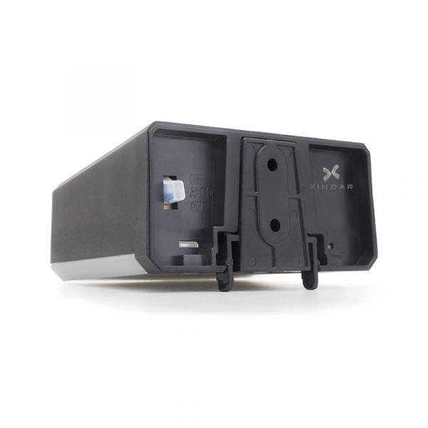Luminaria con detector de movimiento xindar solarwall black