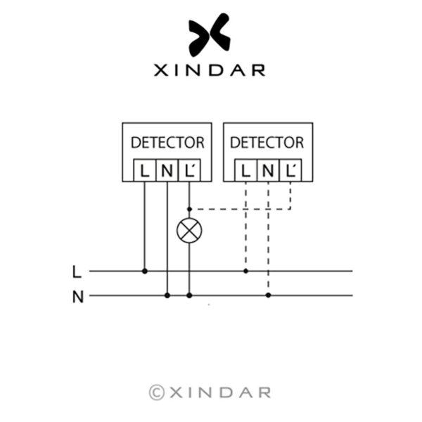 detector-movimiento-empotrar-pared-pir-sekkyur-in-xindar-esquema